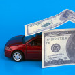 Purchase, sale or car insurance — Stock Photo