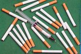 Nicotine dependence — Stock Photo
