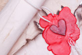 Old love letter — Stock Photo