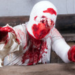 Bloodied bandages zombie  — Stock Photo