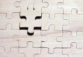 木製のパズル — ストック写真