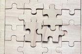 Puzzles en bois. — Photo