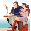 Stock Vector: Couples2