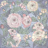 Design floral — Vetorial Stock