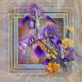 Kwiatowy wzór — Zdjęcie stockowe