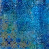 Pozadí modrá — Stock fotografie