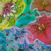 Background7788 floral — Foto de Stock