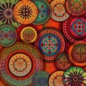 Pozadí – geometrické vzory — Stock fotografie