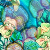 Background floral, roses — ストック写真