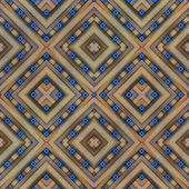 Geometric pattern, symmetrical         — Stock Photo