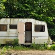 Stock Photo: Old Caravan
