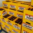 Jupiler beer crates — Stock Photo #14522721