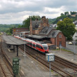 Railway station Gerolstein - Stock Photo