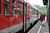 Podróż pociągiem — Zdjęcie stockowe