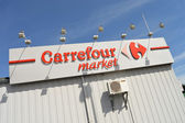 Carrefour market — Stock Photo