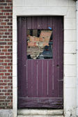 Bricked Door — Stockfoto