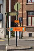 Diversion route — Stock Photo