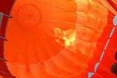 橙色气球 — 图库照片
