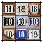 Numbers Eighteen — Stock Photo #24368301