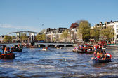 Amstel river — Stock Photo