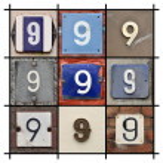 Numbers Nine — Stock Photo