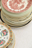 Various Plates — Stock Photo