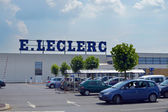 E.Leclerc hypermarket — Stock Photo