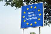 Frontière d'Allemagne — Photo
