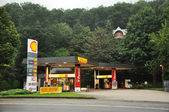 Shell petrol station — Stock Photo