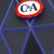 C & A logo — Stock Photo