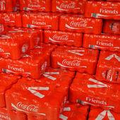 Coca Cola Friends — Stock Photo