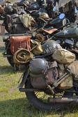 Oss armén motorcyklar — Stockfoto