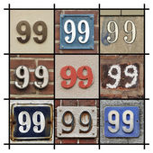Numbers 99 — Stock Photo