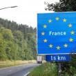 Border of France — Stock Photo #47758017