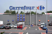Carrefour hypermarket — Stock Photo