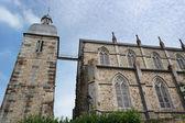 Eglise Saint-Pair de Ducey — Stock Photo