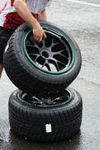 Rain tyres — Photo