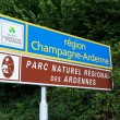 Champagne-Ardenne sign — Stock Photo #51530637