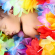 Sleeping baby girl — Stock Photo #37620067