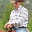Young cowboy — Stock Photo #13122564
