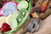 Obstkorb — Stockfoto