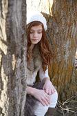 Winter Teen — Stock Photo