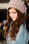 Winter Teen — Stockfoto