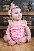 Baby flicka — Stockfoto
