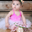 Baby ballerina — Stock Photo #43800773