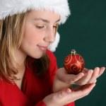 Christmas Girl — Stock Photo #9328378