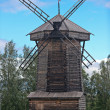 Royalty-Free Stock Photo: Old wooden windmill.