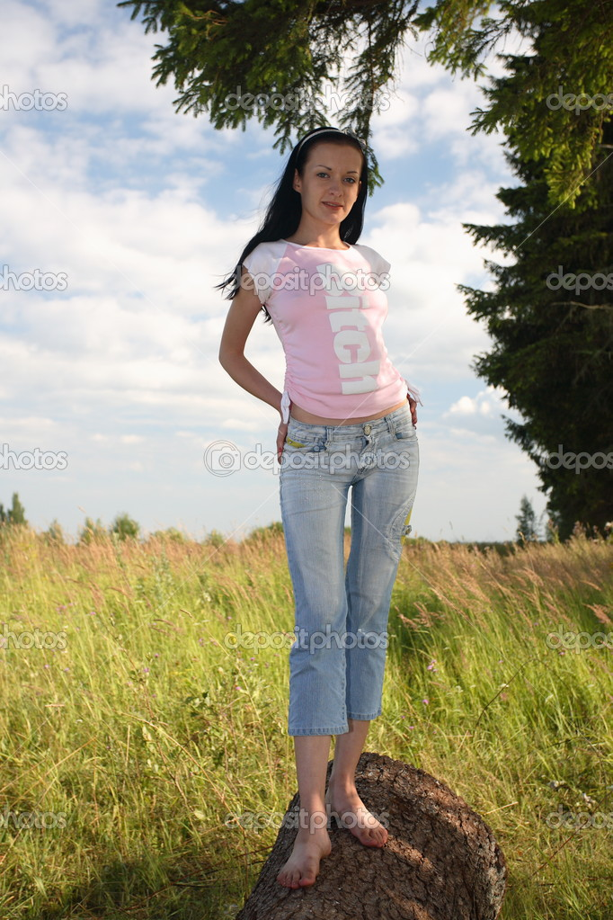 фото девушек оголених