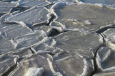 Melting ice — Stockfoto