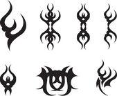 Abstract symbols — Stock Vector